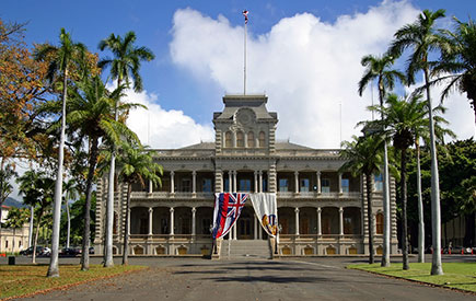 Explore the Iolani Palace