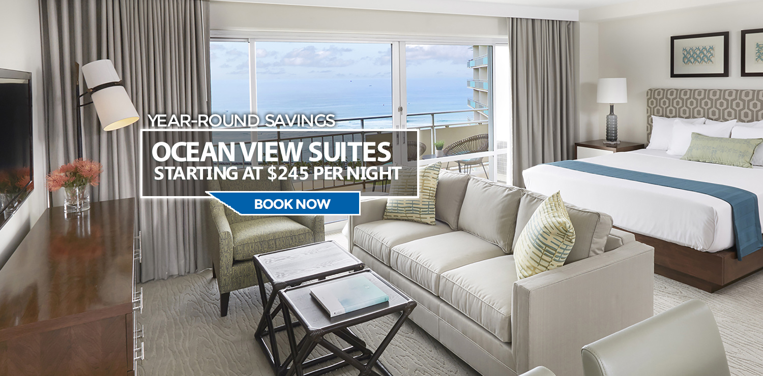Year Round Savings On Our Ocean View Suites - Learn More