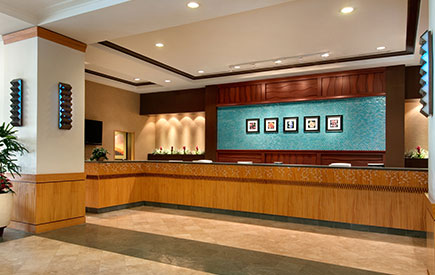 Ilikai Hotel & Luxury Suites Lobby