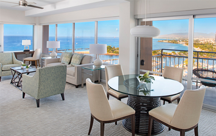 Ilikai Hotel & Luxury Suites 2-Bedroom Ocean Front